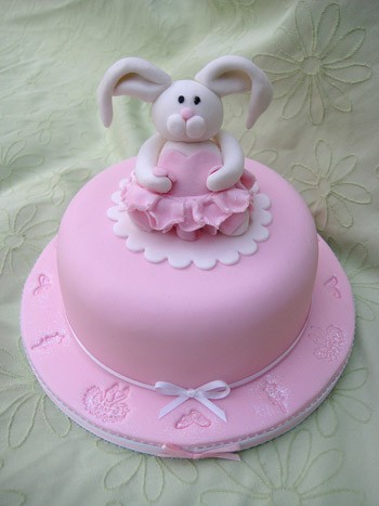 Happy Bunny Birthday Cake
